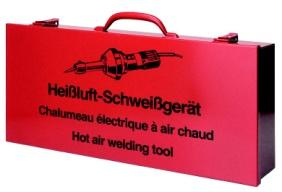 Transport box for hot air welders