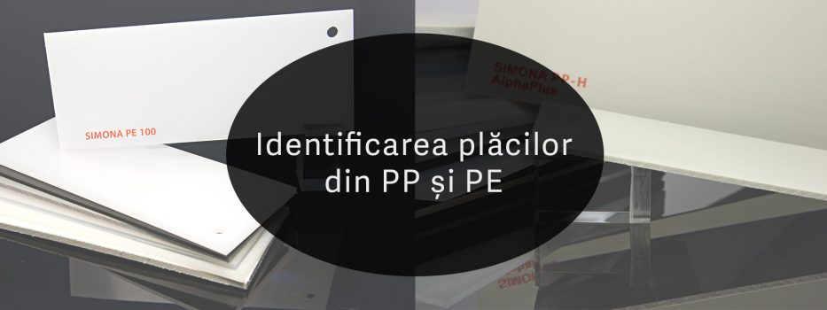 Identification of PE and PP sheets