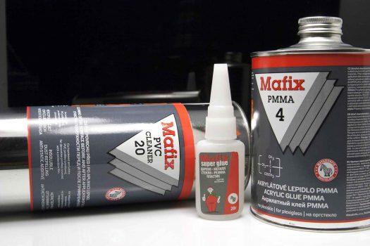 MAFIX – adeziv pentru plăci PMMA