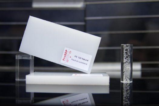 PE 100/PE-HD natural – Plăci din polietilena