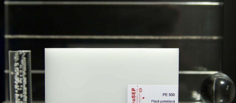 PE 500 – Plăci din polietilenă