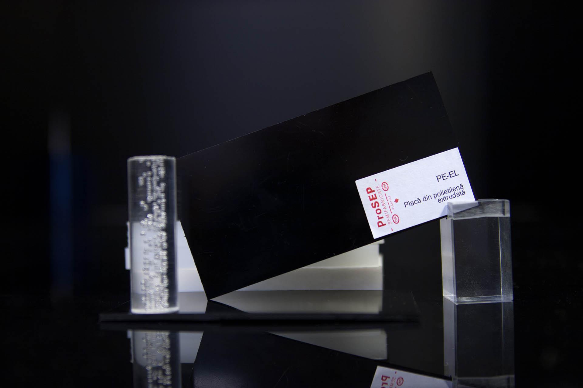 PE-EL – Plăci din polietilena conductoare electric