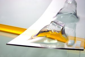 PET-G placa termoformabila transparenta