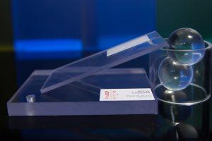 PET-G transparent placa detaliu