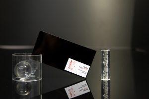 PMMA plazcast negru placa acrilica turnata