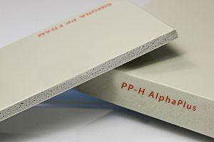 PP-H Alphaplus placa polipropilena