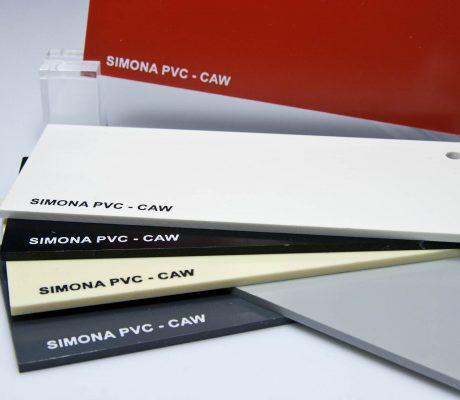 PVC-CAW – plăci rigide din PVC compact