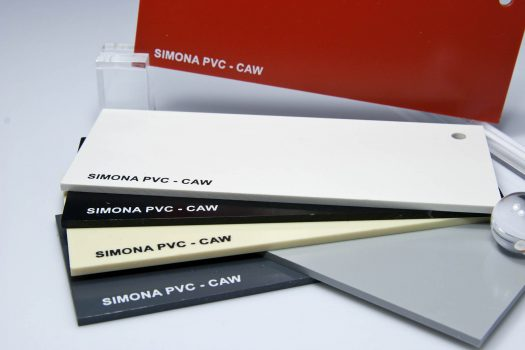 PVC-CAW – rigid compact PVC sheets