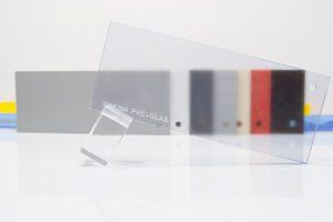 PVC-GLAS placa pvc transparenta