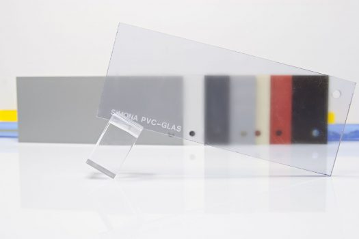PVC-GLAS – transparent rigid sheets made of compact PVC