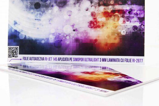 Ri-jet 145 – Folie autoadeziva de format mare pentru print digital