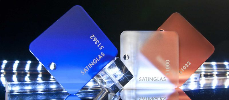 Satinglas® – plăci satinate pe ambele fețe
