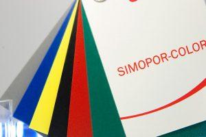 Simopor color placi detaliu spuma pvc