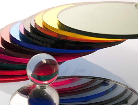 Oglinzi acrilice – Plăci oglindate