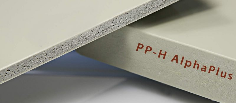 PP-H AlphaPlus – Placi din polipropilena