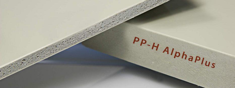 AlphaPlus PP-H – Polypropylene sheets