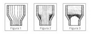 formarea de depuneri de cereale intr-un siloz figurile 1, 2 si 3