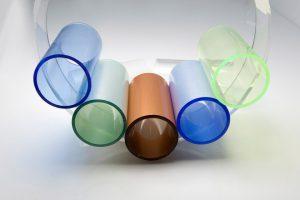 foto detaliu tuburi acrilice