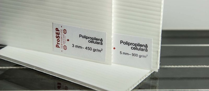 Plăci din Polipropilenă Celulară